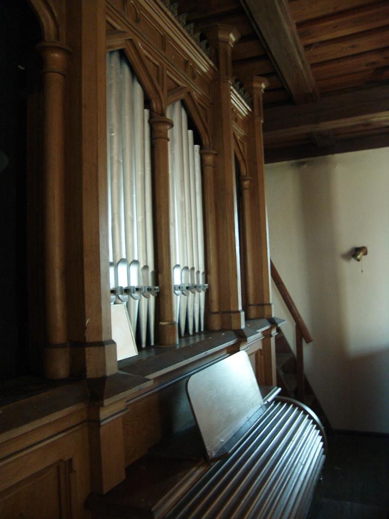Feldsteinkirche Hasenholz Orgel